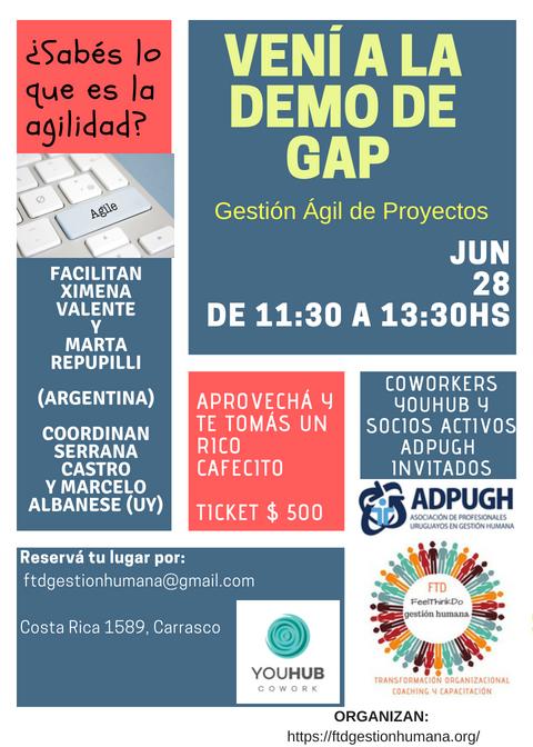 Demo GAP Mdeo 28062018